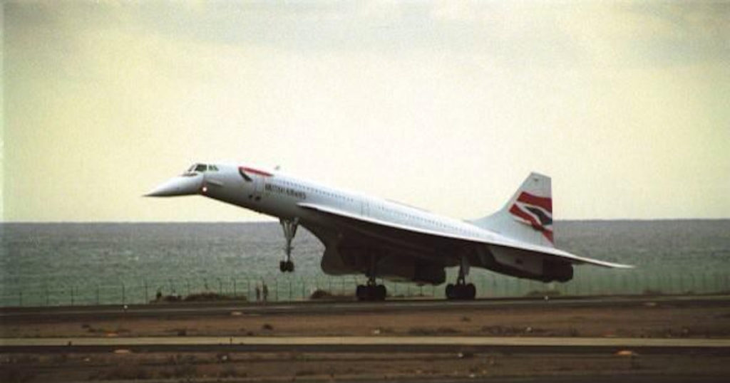 Concorde G-BOAC Lanzarote
